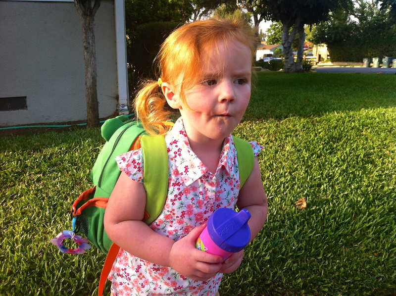 Ceili's First Day of Pre-K @ Walden 09/10/12