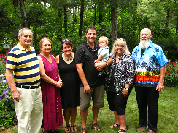 Byrne Family @ Laird LaCoste & Ed Morrone's B-Day Party 07/26/14