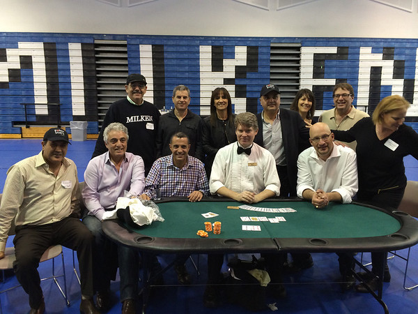 Aces Chai Poker Tournament @ Milken 02/27/14