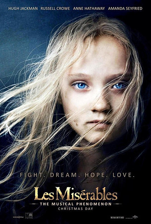 Les Miserables Movie Posters - Fall 2012